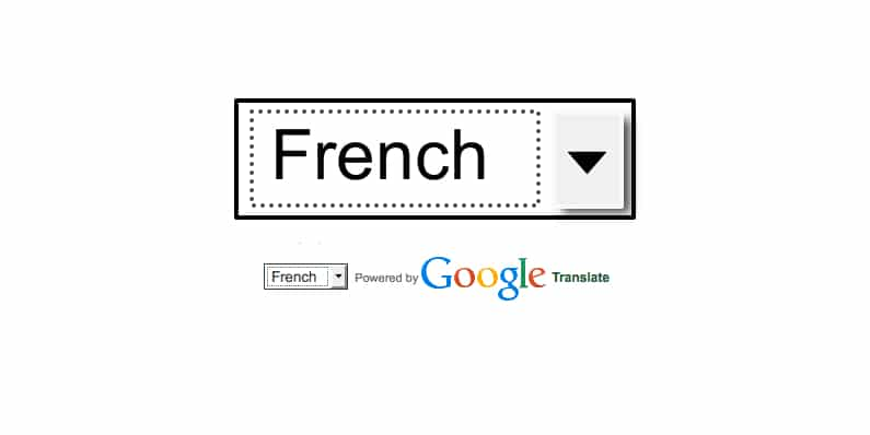 English-to-French translation of gite website – Google Translator vs native French speaker