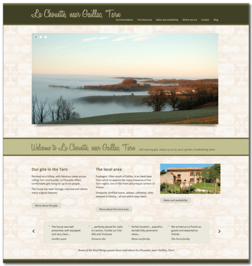 Chouette home page